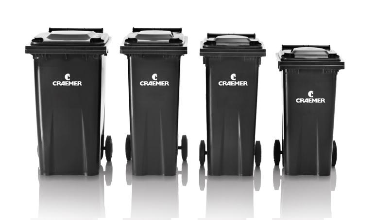 Affaldsbeholder med hjul