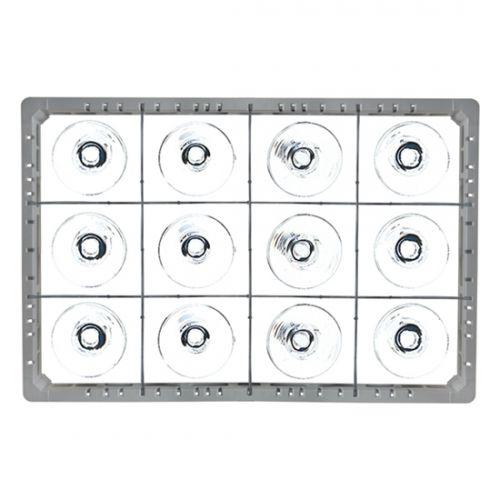 Opvaskekurve til 118x137 mm glas - 3x4 rum
