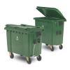 4 hjulede affaldsbeholdere
