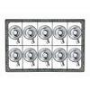 Opvaskekurve til 179x109 mm glas - 2x5 rum