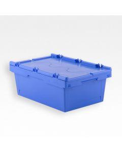 Transportkasse 609x399x207 mm - blå