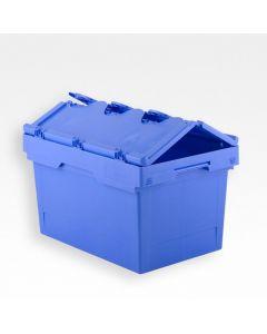 Transportkasse 609x399x307 mm - blå