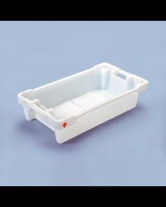 Fish Box med dræn 800x450x190 mm 35L/20kg - hvid