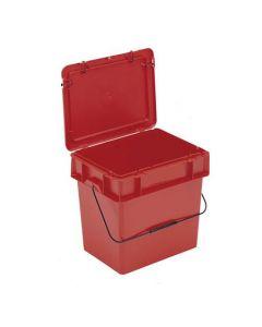 Miljø kasse 400x300x350 mm - rød