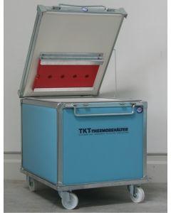 Termoskab 180 L på hjul - 810x660x630 mm - blå