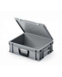 UNISTA kuffertkasse 400x300x120 mm - grå