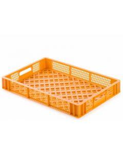 Brødkasse 600x400x87 mm - gul/orange