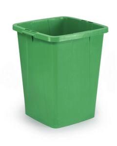 Plastbeholder 90L 520x490x610 mm - grøn