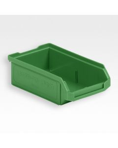 Plukkasse 170x100x50 mm m/slids til ophæng - grøn