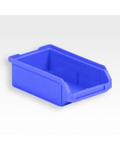 Plukkasse 170x100x50 mm m/slids til ophæng - blå