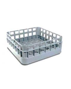 Opvaskekurv 500x500x174 mm - grå