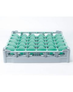 Opvaskekurv 500x500 mm - 73 mm - 30 glas