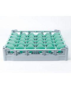 Opvaskekurv 500x500 mm - 73 mm - 6x6 glas