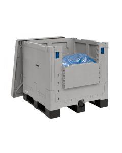 """SCS Liner 1000L Pillow-3"""" x 2"""" blue valve"""
