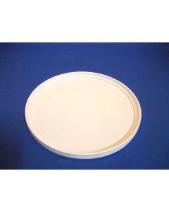 Plastlåg 4320 - Ø378 mm - Hvid