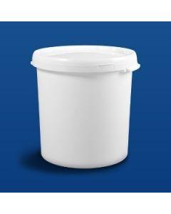Plastspand HOM26000 - 27,5 L m/ håndtag.- Hvid