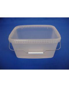 Plastspand ERE5700 - 5,8 l. - Klar