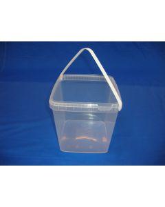 Plastspand EQE5000 - 5,2 L. -  Klar