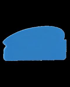 Plasthåndskraber 165x2x92 mm - Blå