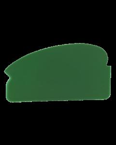 Plasthåndskraber 165x2x92 mm - Grøn