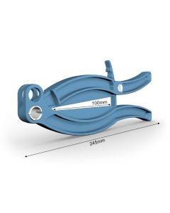 Gripper 245 mm m. låseknap - blå